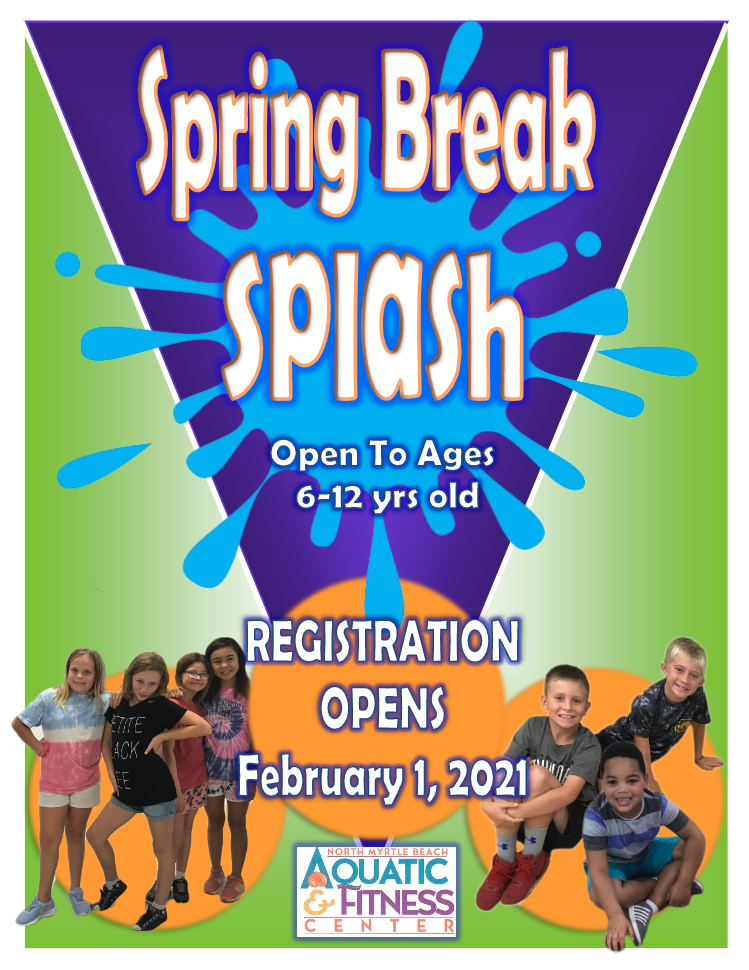 Spring Break Splash Flyer
